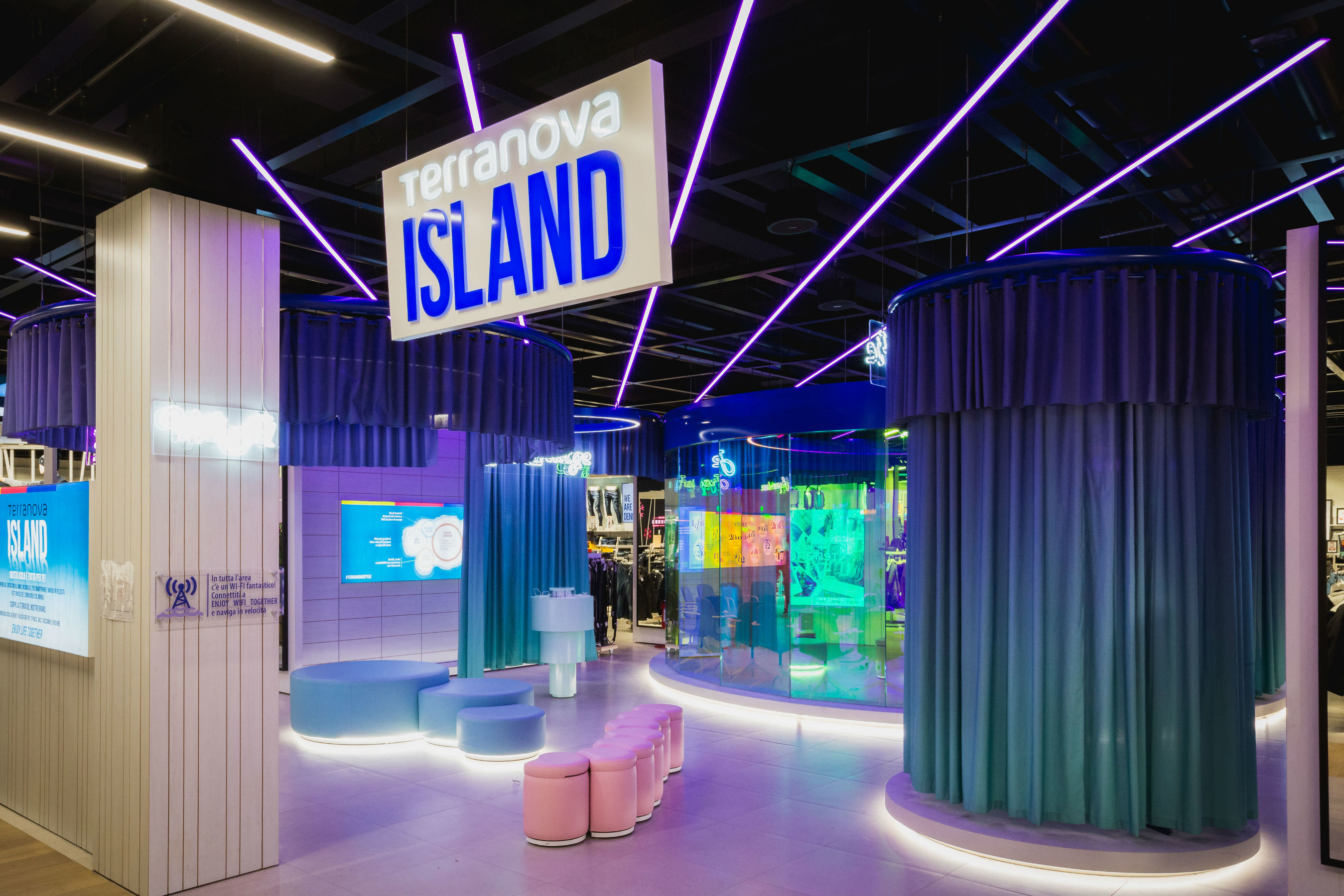 T-Island: l'innovativo concept del training center Terranova
