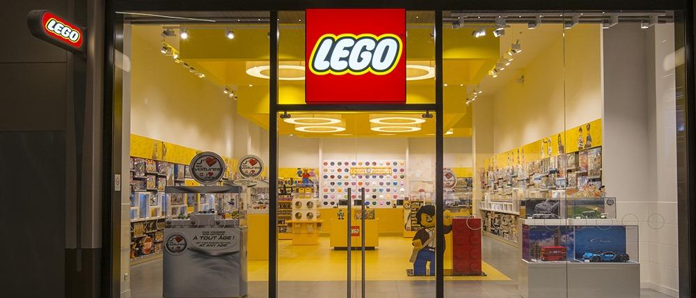 Il negozio Lego a Nizza